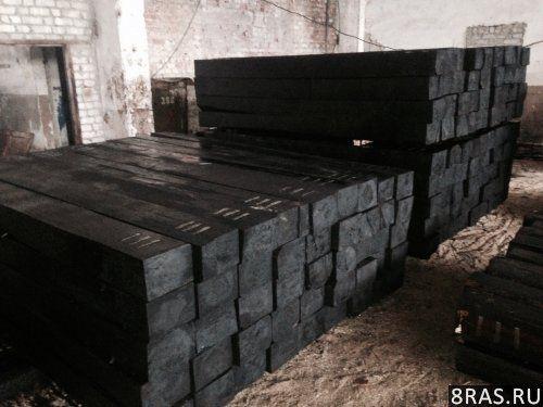 Шпала для ЖД путей деревянные пропитанные | Брянск объявление №2476