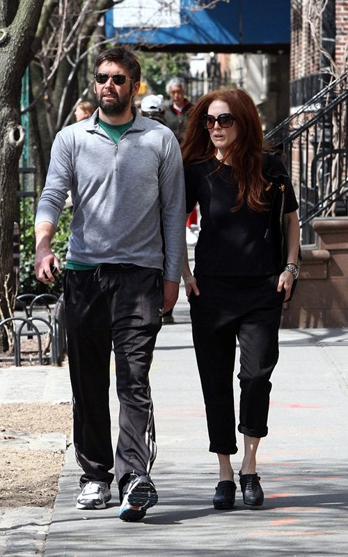 Julianne Moore with Bart Freundlich 2013