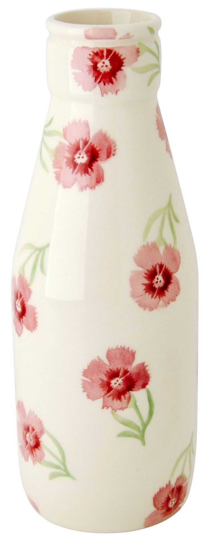 Emma Bridgewater Carnations Large Milk Bottle Sale Day Competition Giveaway 2014 - Only two winners