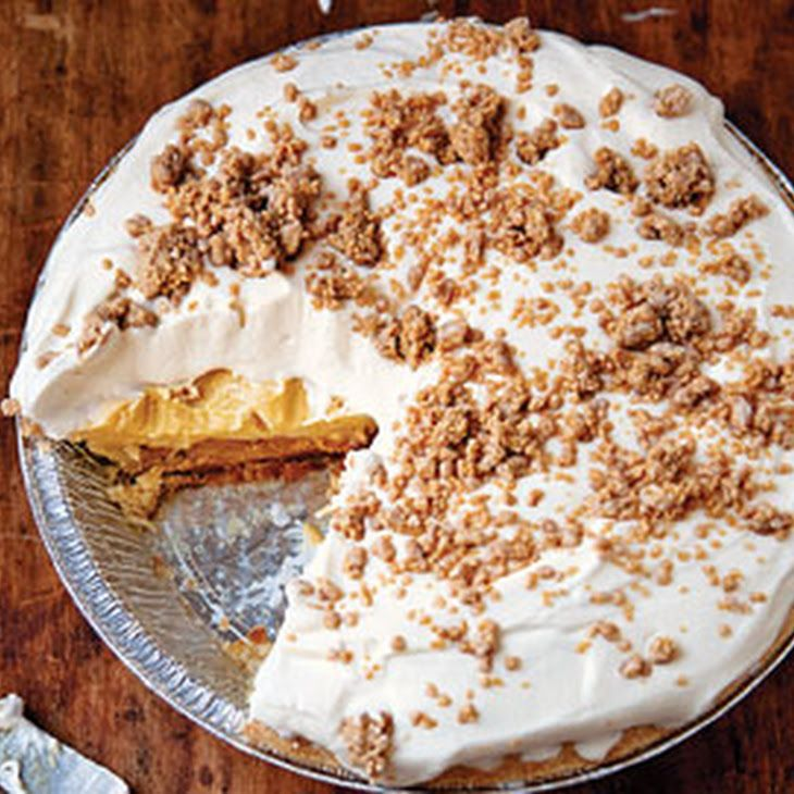peanut butter pie without cream cheese