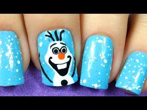 GabyNailArt - Olaf (Frozen)