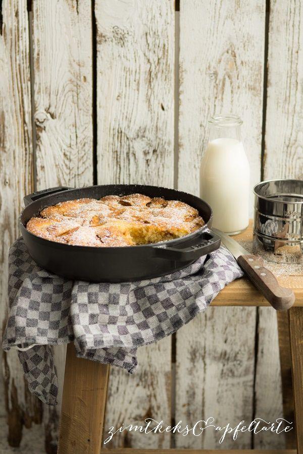 Apfel-Pfannenkuchen und Super-Gau! - Zimtkeks und Apfeltarte