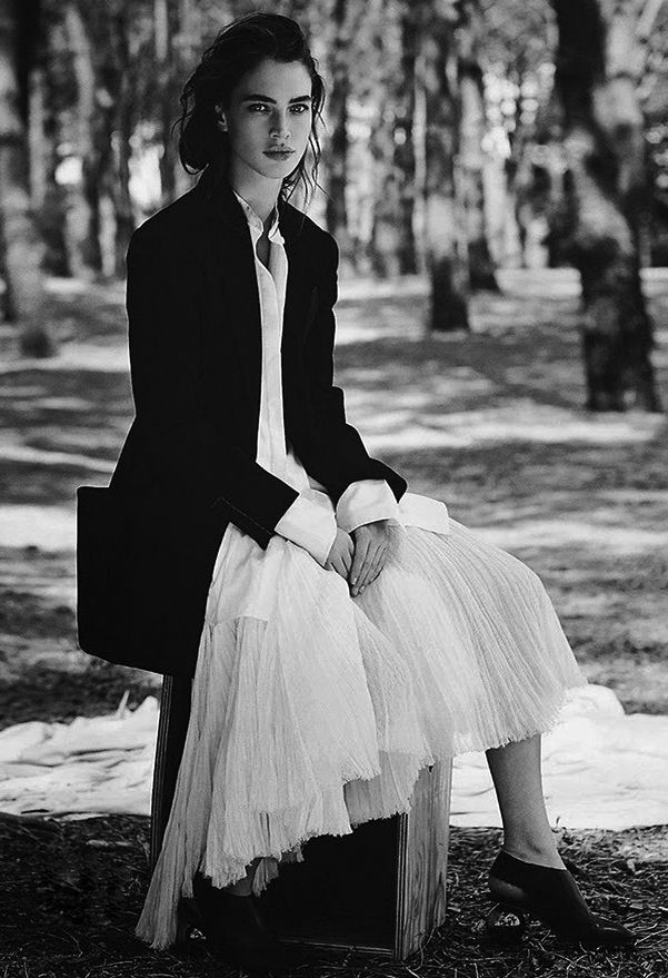 "laviearose: ""http://laviearose.tumblr.com/ Crista Cober by Will Davidson for Vogue Australia May 2014 """