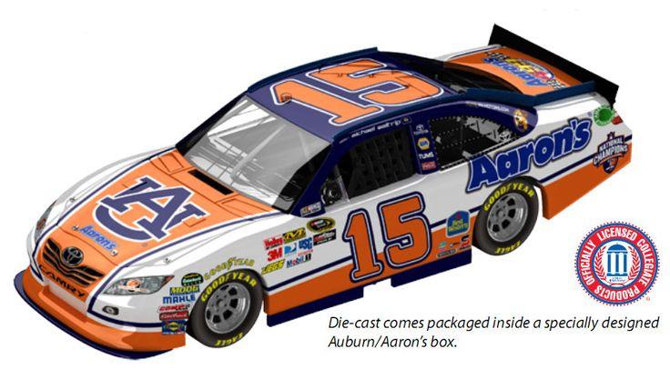 PHOTO: Michael Waltrip's Auburn Football Car For NASCAR Talladega ...