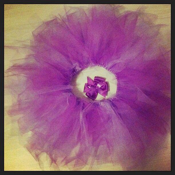 Zelfgemaakte #tutu voor een lief meisje ... Homemade is better #teamcraft ! #levyxstar on instagram