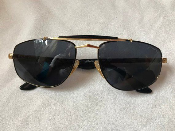 147066eb78f Vintage Square Aviators | T. Force Mirage 2 Italian Sunglasses ...