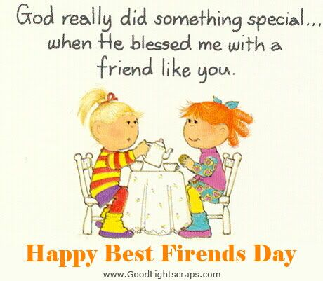 June 8 is National Best Friends Day! This is for you, Cely and Makayla!