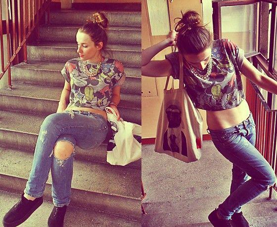 Primark T Shirt, Pinko Jeans