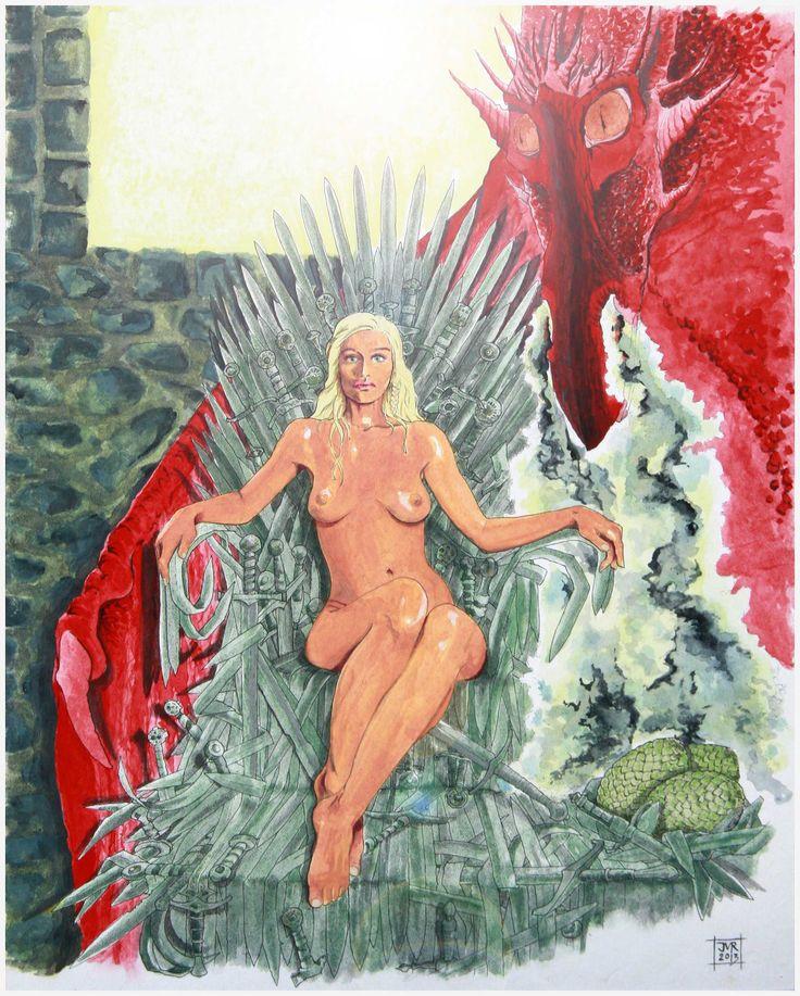 Daenerys Targaryen - Game of Thrones - Joeri Van Royen