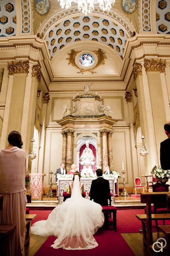 Reportaje de boda en Pamplona Navarra PamplonaAltarWedding