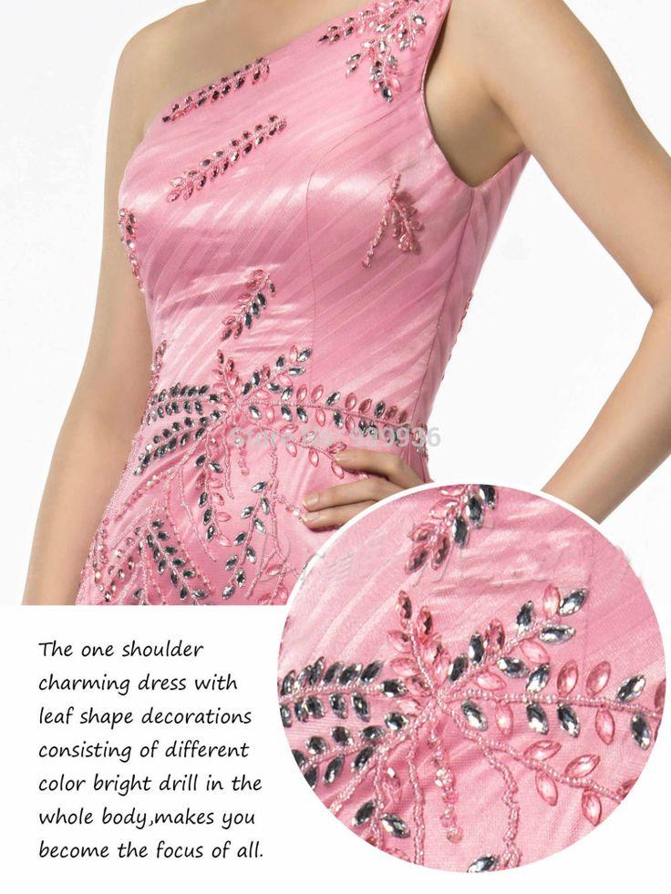 Свежий цвет новинка этаж Legnth одно плечо бисероплетение рукавов тюль формальные блестящие платья выпускного вечера