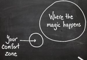 Step Out of Your Comfort Zone - KromaMarketing