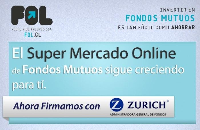 El super mercado online de los Fondos Mutuos www.fol.cl sigue creciendo para ti.