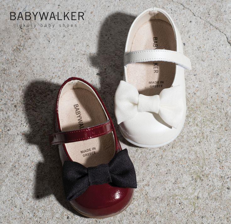 BABYWALKER luxury shoes FW2017 #babywalkershoes #babywalker #christening #vaptistika #papoutsia #kidsshoes #babyshoes #girlshoes #balarinas