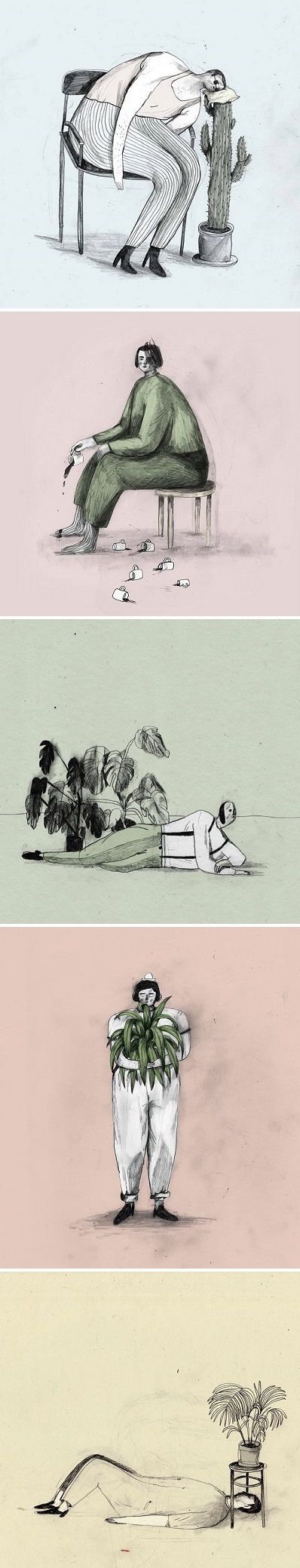 Illustrations by Marianne Engedal / on the Blog!