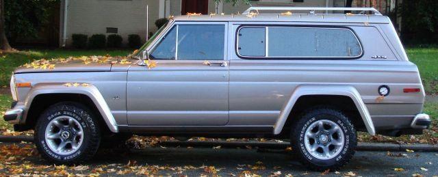 1983 Jeep Cherokee FSJ