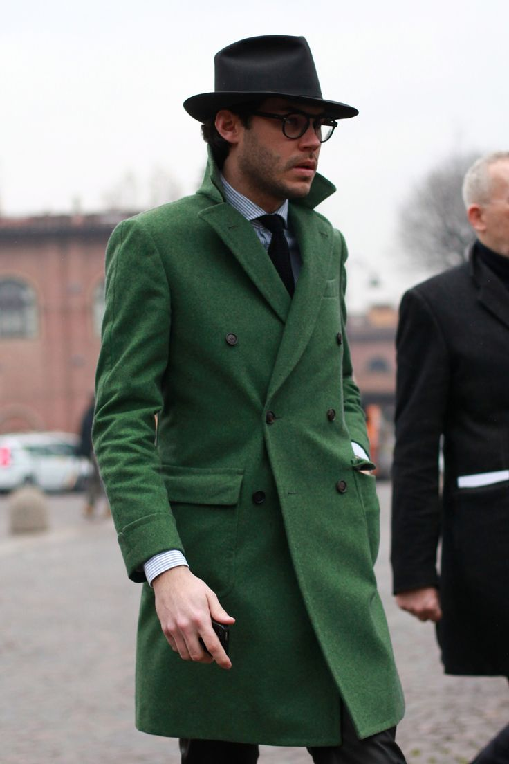 45 best Men's Green Outerwear Style images on Pinterest | Menswear ...