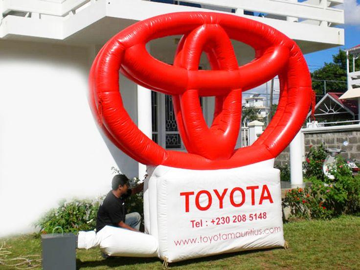 Inflables, Toyota Logo Block -venta De Publicidad Inflable - Comprar Barato Precio De Inflables, Toyota Logo Block - Fabrica Publicidad Inflable En Colombia