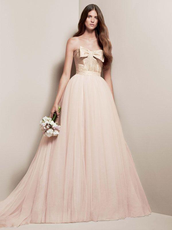 Blush Wedding - Blush Wedding Dress From David.