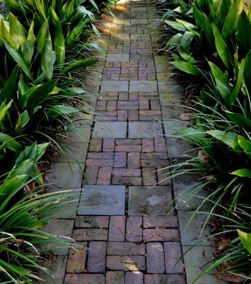 more pretty brick pattern/walkway for brick areas...