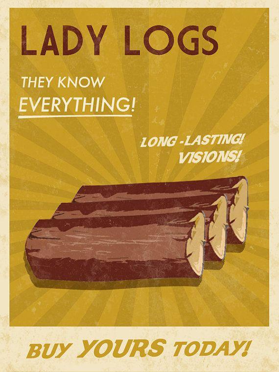 Twin Peaks propaganda poster <3