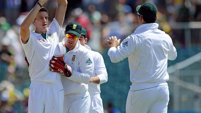 """SOUTH AFRICA has declared it will """"hunt"""" Michael Clarke down should the Australia skipper recover in time for the business end of the one-day tri-series in Harare. Clarke is set to miss Wednesday's opening heavyweight clash between the two fierce rivals with his hamstring injury, but he'll be aiming to return for a .... More Details Visit http://www.clippingpathhouse.com/blog/south-africa-paceman-morne-morkel-out-to-hunt-australia-captain-michael-clarke/"""