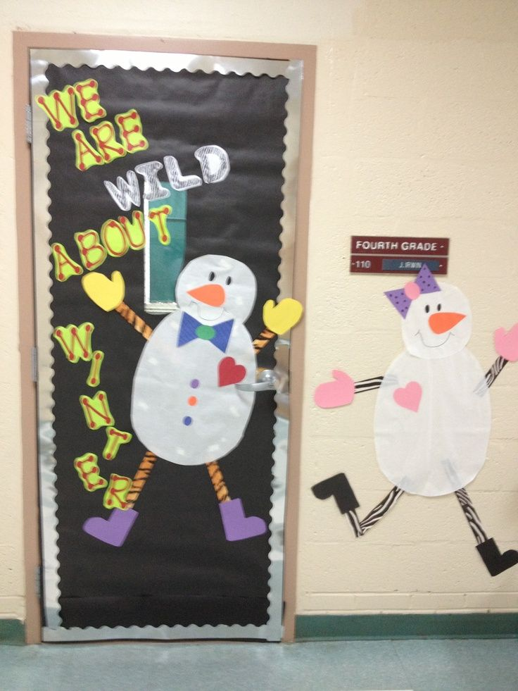 Classroom Winter Decor : Classroom door ideas winter decor