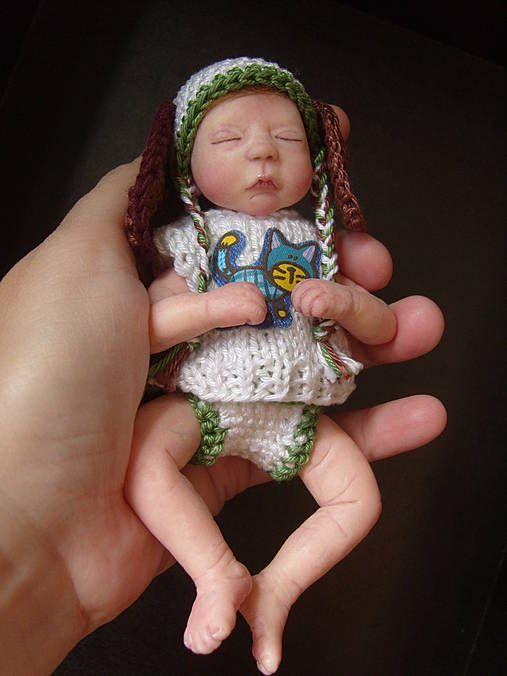 Eragonia / Miniatúrne bábätko z polymérovej hmoty, chlapček Tobias