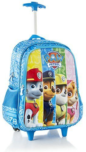 Luggage Tags Collections | Heys Nickelodeon Paw Patrol 16 Travel Rolling Backpack With Shoulder Strap * Click image to review more details. Note:It is Affiliate Link to Amazon.