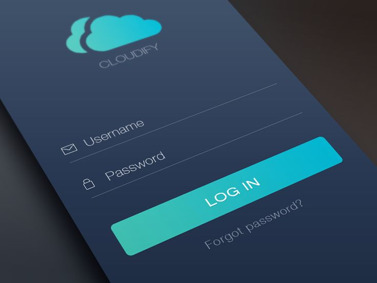 Hello guys,  Here is an iPhone login screen design which i created a few months ago. Don't forget to check the attachment for more details. If you like the design don't forget to press L to show me...