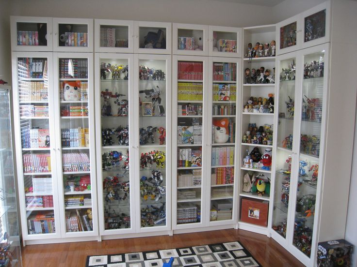 Billy Bookcase Door Option With Upper Row