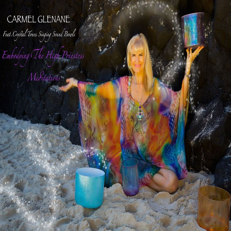 Carmel offers recordings of special meditations and sessions involving the Crystal Tone Singing Bowls.