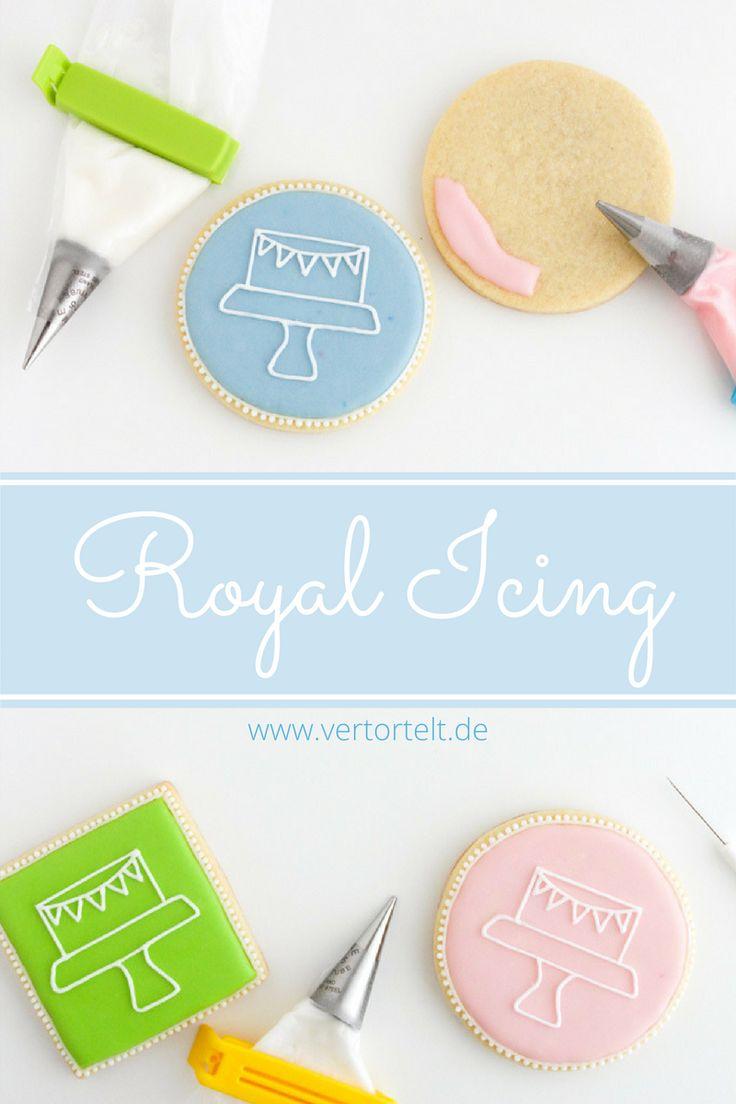 Royal Icing Grundlagen mit Rezept und praktischen Tipps