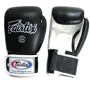 Fairtex Training Gloves (Black, 10 oz) by Fairtex. $89.95. These all-purpose training gloves are perfect for bag and pad work. The wraparound hook and loop wristband is easy to use and designed to provide a better fit for greater comfort and control. Evenly distributed padding protects your entire hand and creates a tight and compact design.