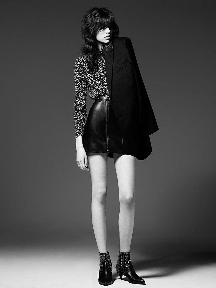 クール&ロックがキー★サンローラン2014年秋コレクションが公開 の画像|海外ストリートスナップ、ファッションスナップ - Snapmee(スナップミー)