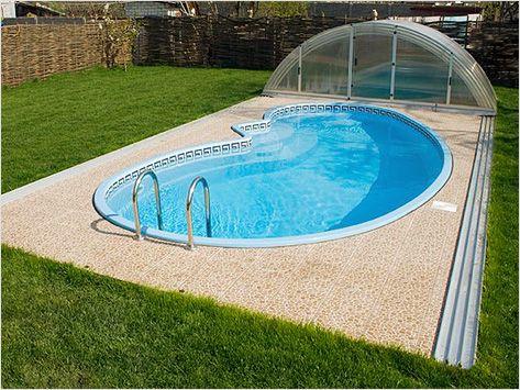 бассейн в саду - Поиск в Google