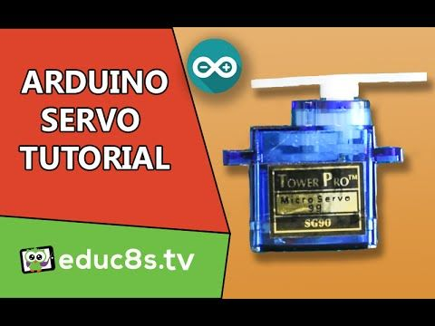 Arduino Tutorial: Using a Servo SG90 with Arduino - educ8s.tv - Watch Learn…