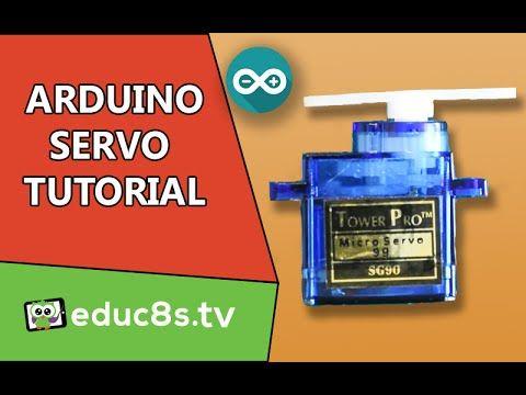 Arduino Tutorial: Using a Servo SG90 with Arduino - educ8s.tv - Watch Learn…