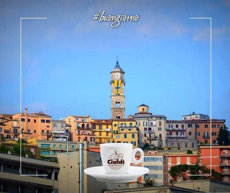 Stamattina ci siamo svegliati a Frosinone. http://www.cialdi.it/  #buongiorno   #coffee   #relax