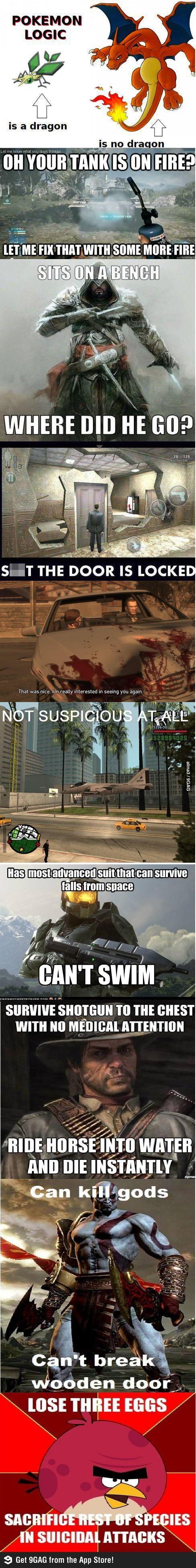 game logic video game