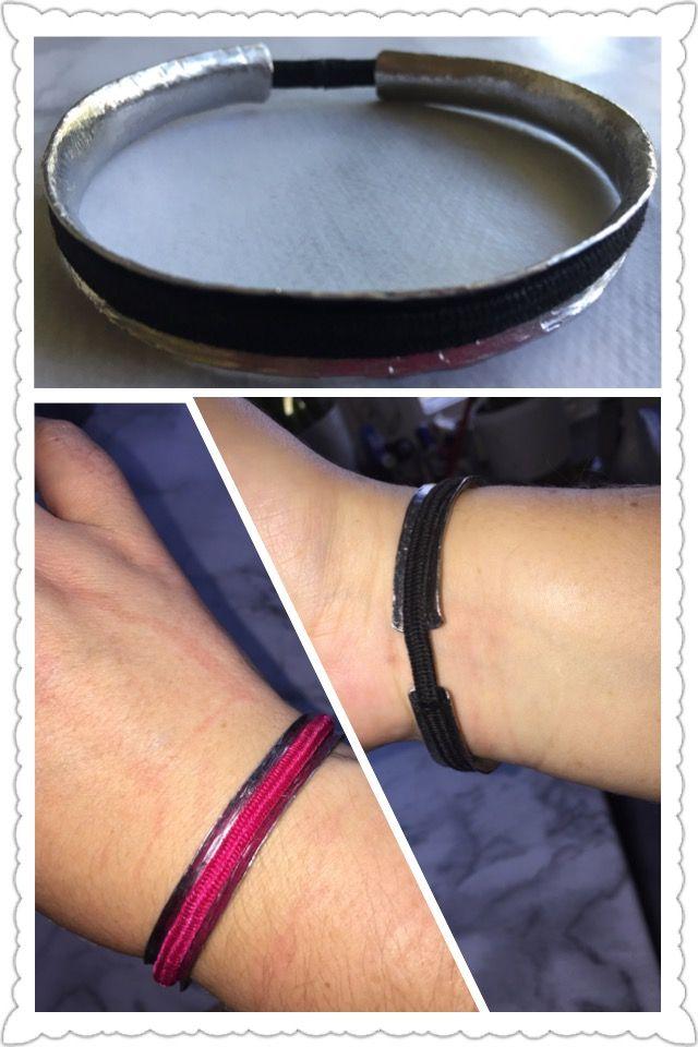 Armband för hårsnodd