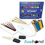 Review for Ultimate Oil Painting Set - 24 Oil Paints - Painting Canvas - Paint Brushes Set... - Debbie Sue  - Blog Booster