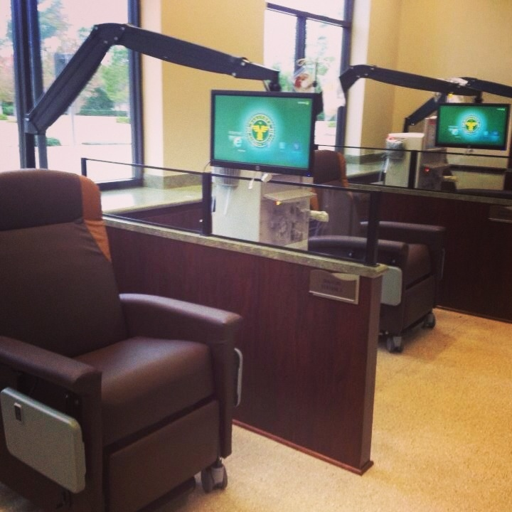 Touch screen TVs & free wifi for dialysis patients