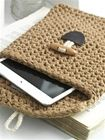 Free Crochet Pattern RibbonXL Tablet Sleeve - t-shirt yarn