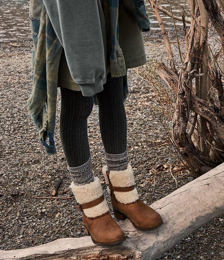 Chestnut:UGG® Blayre II Cold-Weather Sheepskin Cuffed ...