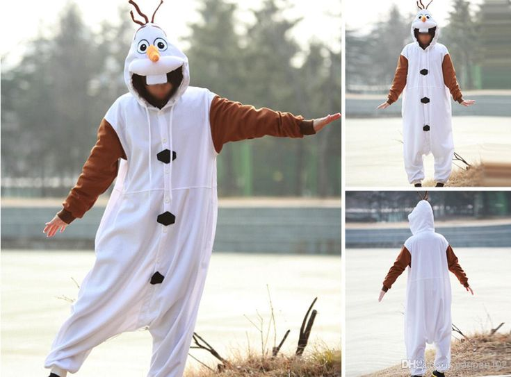Wholesale Cosplay Homewear - Buy New FROZEN Olaf Cheap Adult Men Women Halloween Animal Kigurumi Cosplay Costume Pajamas Outfit Nonopnd Nigh...