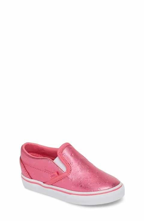 e85dbd15ffdc Vans Classic Metallic Slip-On Sneaker (Baby