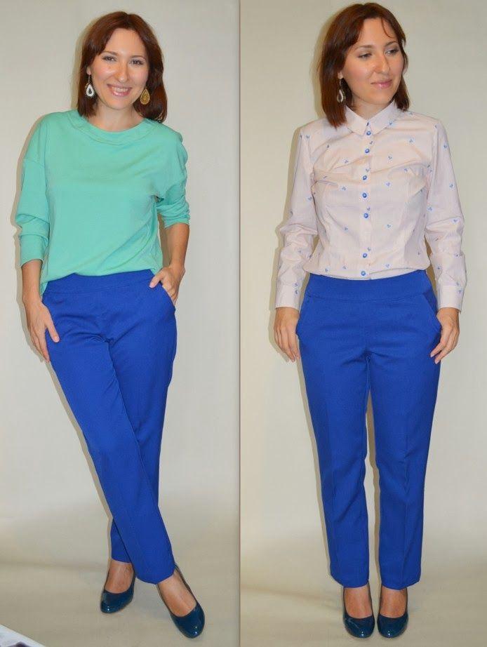 Talent's Sister: Синие брюки / Blue Trousers