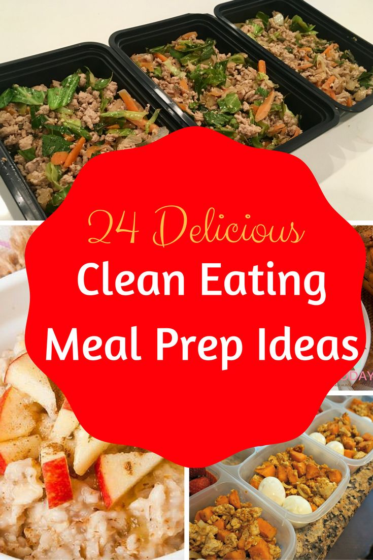 24 Delicious Clean Eating Meal Prep Ideas! They All Taste So Good And Are So