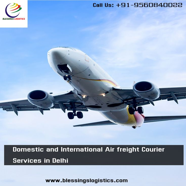 Domestic and international air freight courier services in